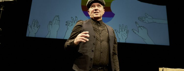 Die Agonie und die Ekstase des Steve Jobs
